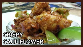 Crispy Cauliflower Recipe | Crispy Cauliflower Fry - Gobi 65 | Airfryer Recipes by Healthy Kadai