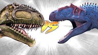 GIGANOTOSAURUS VS SAUROPHAGANAX [Who Would Win?]