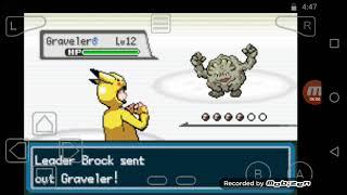 Primer gimnasio derrotado combate epico Pokémon estaca HD#4