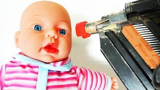 NAIL GUN vs KIDS TOYS!