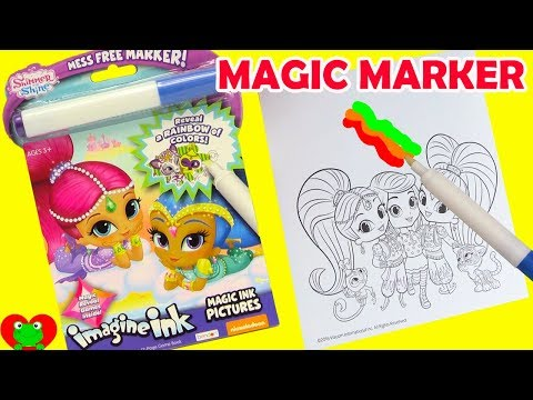 Shimmer and Shine Imagine Ink Magic Marker and Surprises