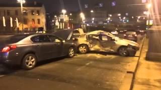 Два человека пострадали в аварии на Большом Каменном мосту в Москве