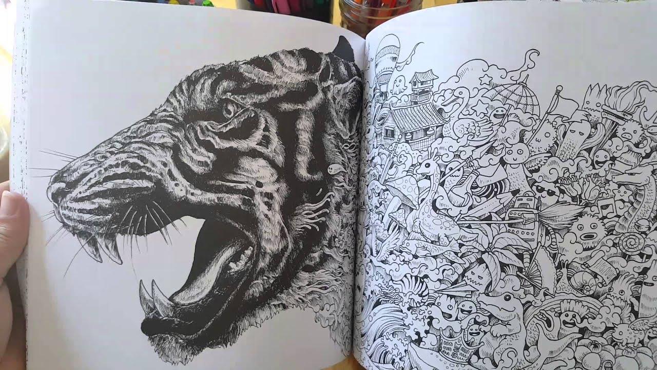 Animorphia Coloring Book Review