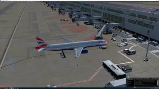 P3DV4 [VATSIM] BAW389 EBBR-EGLL A321 BAVIRTUAL.CO.UK