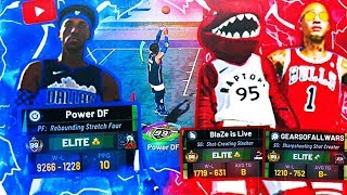99 OVERALL BEST OUT OF 3 SERIES • 99 OVERALL POWER DF VS 2 99 OVERALLS! THE BEST BUILDS IN NBA 2K19