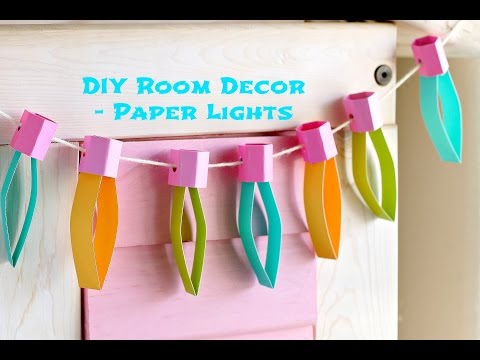 Christmas Lights Easy Paper Craft For Kids Munchkin Time