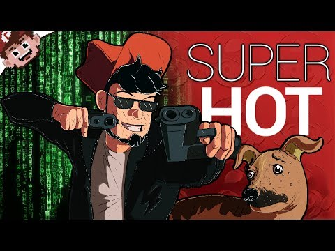 The MATRIX meets JOHN WICK! | The Coolest Virtual Reality Game! (SUPER HOT VR)