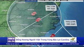 PHÓNG SỰ CỘNG ĐỒNG: Đồng hương người Việt trong vùng bão lụt North Carolina