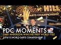 Gary Anderson wins the 2015 World Darts Championship