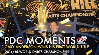 Gary Anderson wins the 2015 World Darts Championship