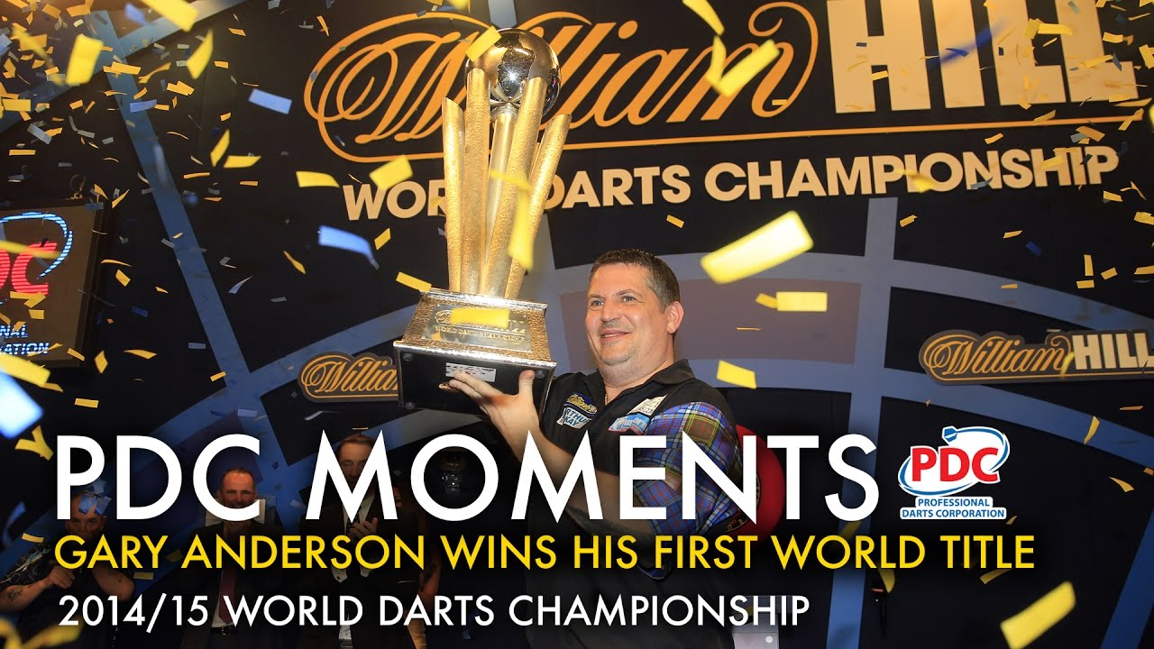 Gary Anderson wins the 2015 World Darts Championship - YouTube