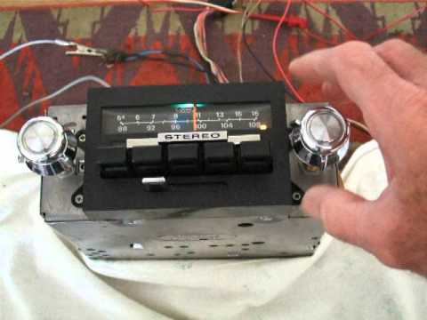 1970s ford stereo radio - YouTube