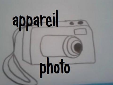 Dessiner Un Appareil Photo Version 2 Youtube