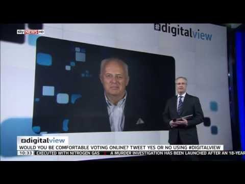 Lord Malloch-Brown Discusses The Possibility Of Digital Voting In The General Election