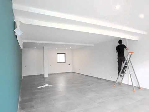 1e310d292536 Pose d un plafond tendu CLIPSO - YouTube