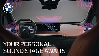 homepage tile video photo for How the Bowers & Wilkins Car Speakers Power the BMW iX   BMW USA