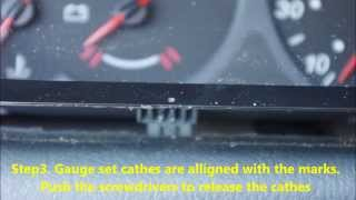 Citroen C5 MK1 2003 - naprawa licznika / speedometer repair