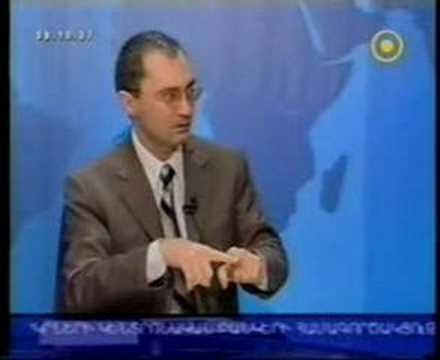 Armen Ayvazyan Epikentron News Program on Kentron TV Part 2