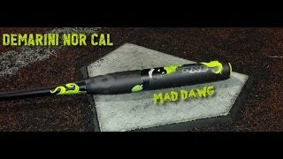 2014 demarini canada mad dawg review