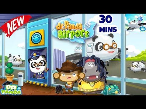 Dr Panda Airport | Educational iPad app for Kids | Dr.Panda | Full Game Play