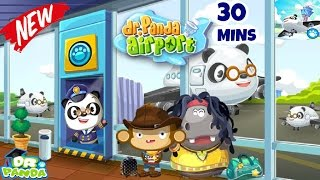 Dr Panda Airport | Educational iPad app for Kids | Dr.Panda | Full Game Play