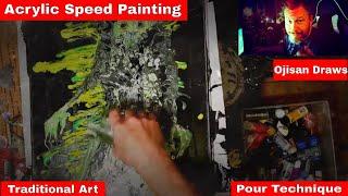 Spring Spirit Acrylic Painting