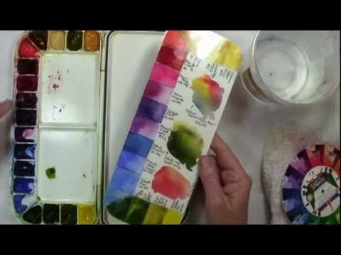 Getting started in watercolour supplies doovi for Watercolor supplies for beginners