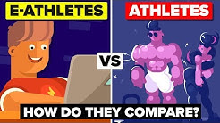 How Do E-Athletes Compare To Real Athletes?