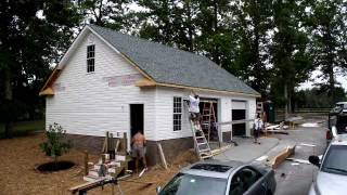 Rbm Detached Garage In Chesterfield (28′ X 36′ ) Time Lapse