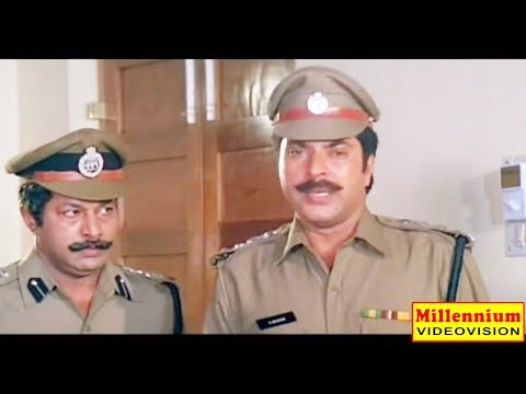 Inspector Balram | Mammootty Action Thriller Movie | Murali | Uravashi