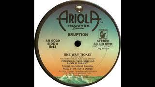 Eruption - One Way Ticket (1978) (US Remix extended karlmixclub)