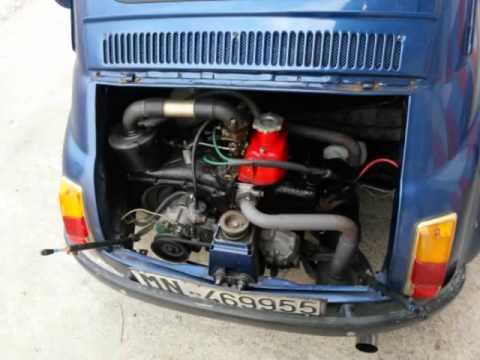 Fiat 500 126 Motore 650 Cc Marmitta Artigianale Supersprint