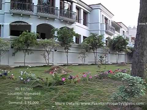 Rent Grand Luxury Palace in Islamabad, Pakistan (E07002) - www.PakistanPropertyVideos.com