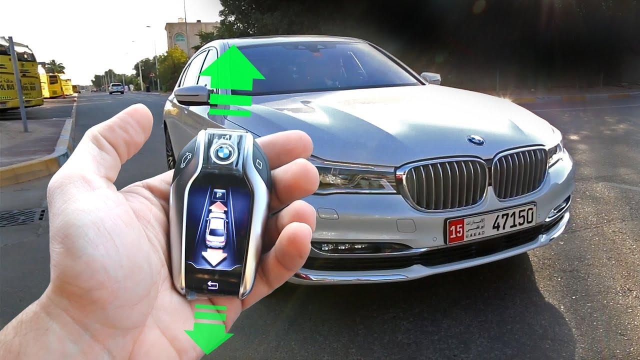 سيّارة تقود نفسها؟ بعض المميزات التي لم تكن تعرفها BMW 750