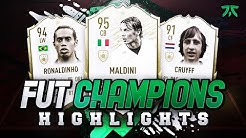 I PACKED PRIME ICON MOMENTS MALDINI! FUT CHAMPIONS HIGHLIGHTS! #FIFA20 Ultimate Team