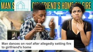 Man Sets Ex-Girlfriend