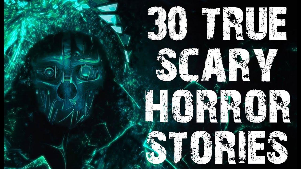 30 TRUE Terrifying Horror Stories In The Dark | Mega