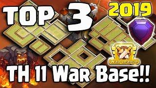 TOP 3 NEW TH11 WAR BASE 2019 Layout BEST TOWN HALL 11 WAR BASE ANTI 2 STAR ANTI 3 STAR