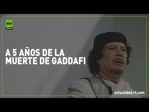 5 años sin Gaddafi: La OTAN dejó una Libia destruida y sin rumbo