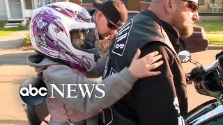 'The Punishers' Biker Club Takes on 7-Year-Old's School Bullies