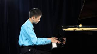 James Yang - Kaufman Center Youth Piano Competition