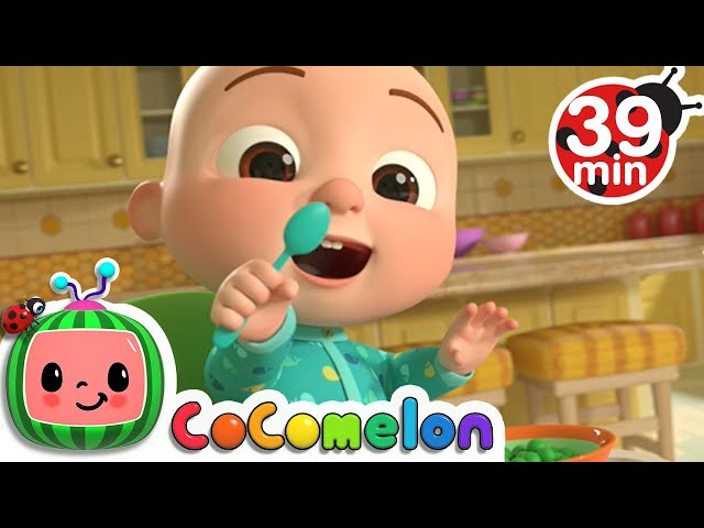Yes Yes Vegetable Song + More Nursery Rhymes & Kids Songs - CoComelon