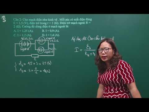 Chữa đề kiểm tra HKI – Vật Lí 11 – Cô Nguyễn Thị Loan