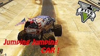 GTA V - Car Jumping Jumping MOD !!! (PC Gameplay Funny Moments)