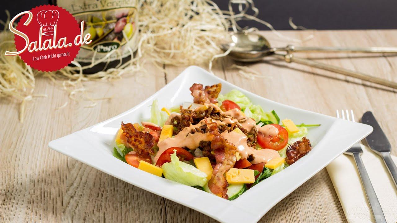 big mac salat rezept low carb partysalat youtube. Black Bedroom Furniture Sets. Home Design Ideas