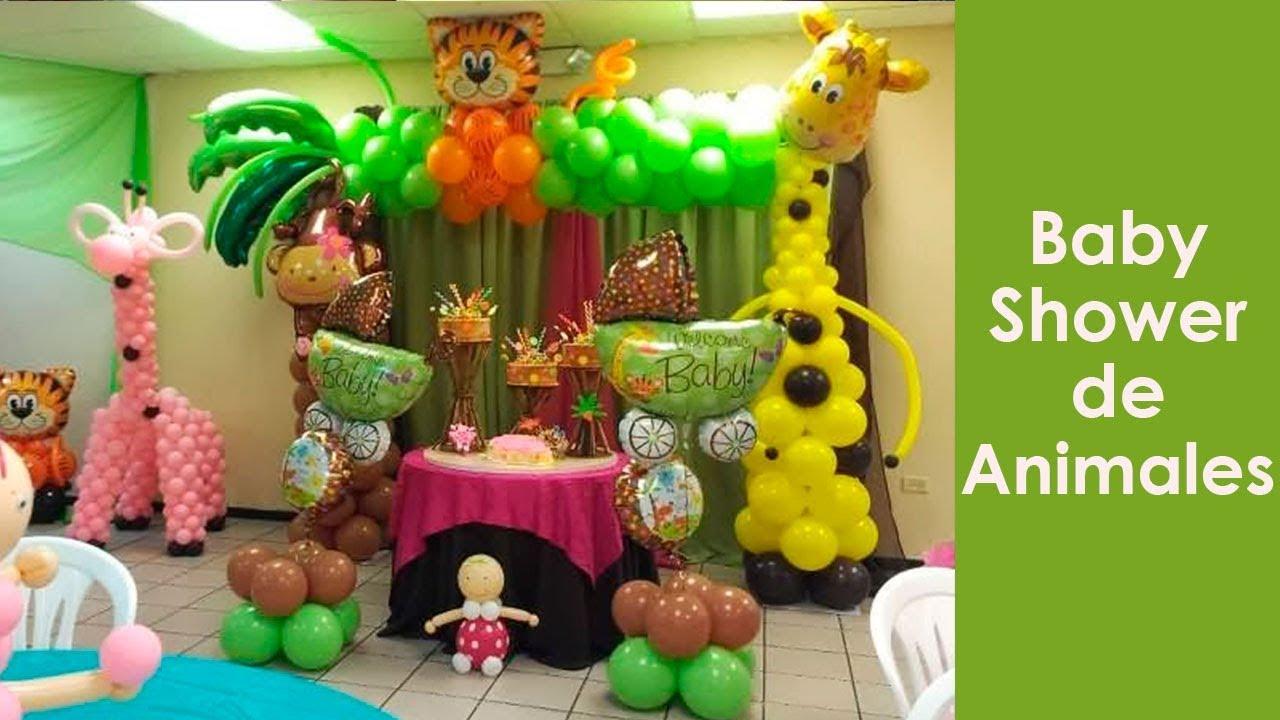 Decoracion De Baby Shower De Animales.Baby Shower Animales