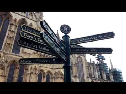 Visiting York, UK   part 1
