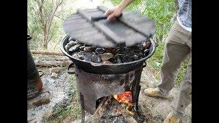 Мясо в камнях - Любимое блюдо Чингисхана. Рецепт (PD)
