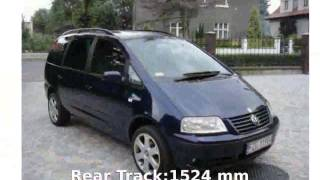 2003 Volkswagen Sharan TDI - Info