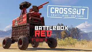 BATTLEBOX RED - Crossout gameplay